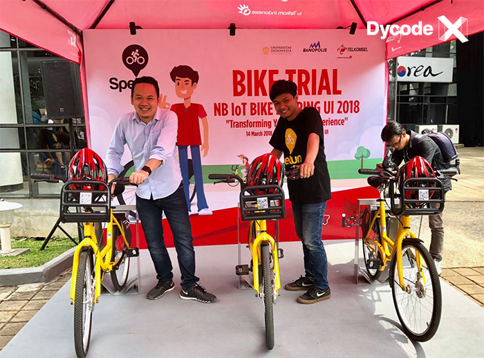 SPEKUN, The First Bike Sharing With NB-IoT Technology in Souhteast Asia