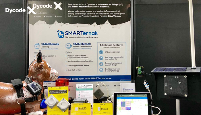 DycodeX Brings SMARTernak To InnoVEX 2018 Taiwan
