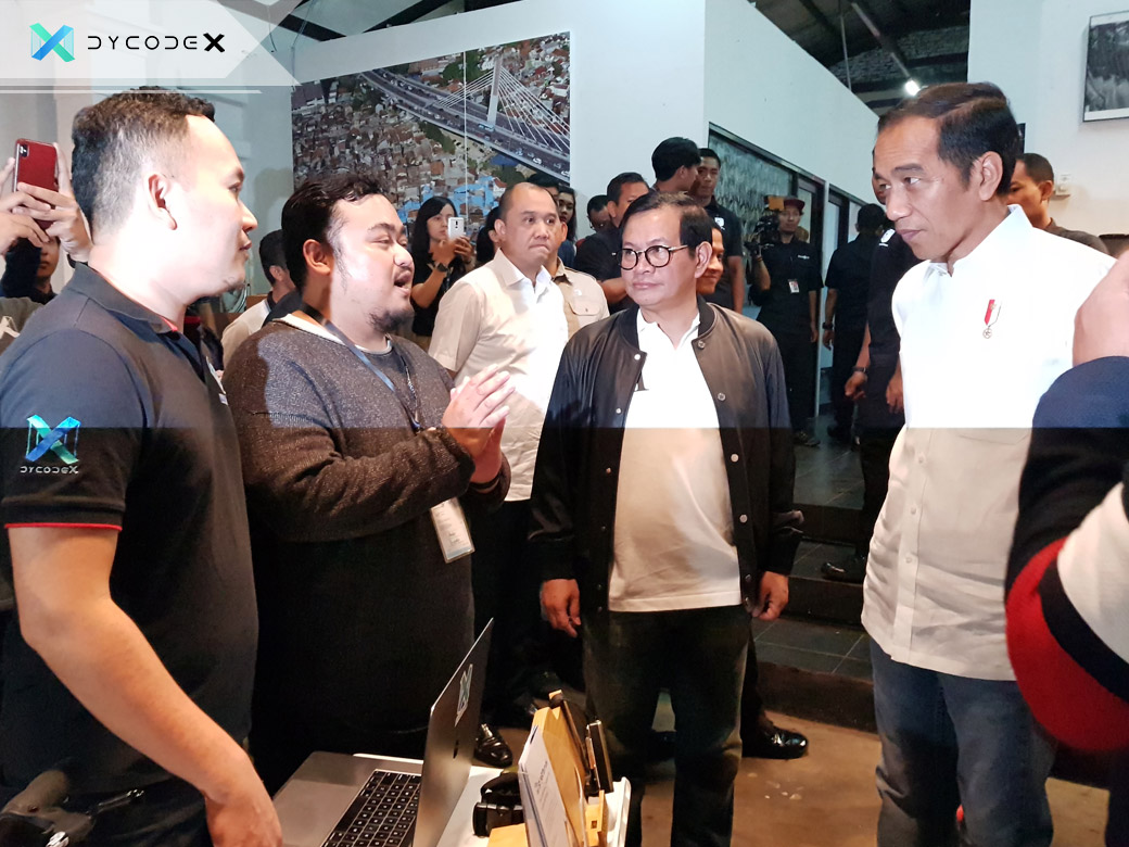 President Joko Widodo Visits DycodeX at BCCF, Endorses Bandung Creative Industry